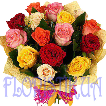 Bouquet Assorted ― Floristik — Shop online flower delivery all over Ukraine.