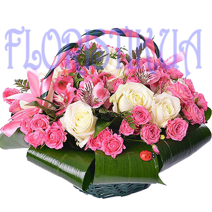 Basket Pilgrim ― Floristik — Shop online flower delivery all over Ukraine.