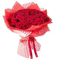 75 red roses