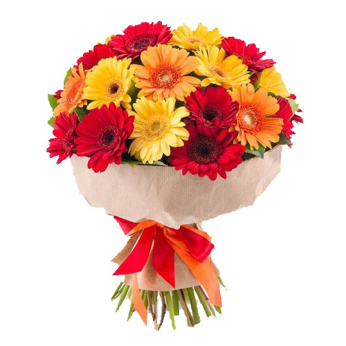 Bouquet of gerberas 25 ― Floristik — Shop online flower delivery all over Ukraine.