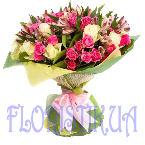 Bouquet Matera ― Floristik — Shop online flower delivery all over Ukraine.