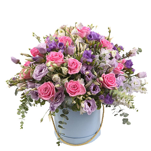 Box Veronica ― Floristik — Shop online flower delivery all over Ukraine.