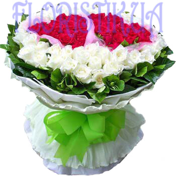 Bouquet Heart ― Floristik — Shop online flower delivery all over Ukraine.