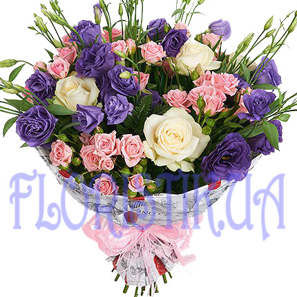 Bouquet Contrast ― Floristik — Shop online flower delivery all over Ukraine.