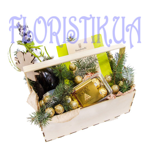 Set Exquisite Present ― Floristik — Shop online flower delivery all over Ukraine.