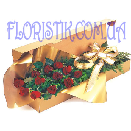 11 red roses. Buy 11 red roses in the online store Floristik