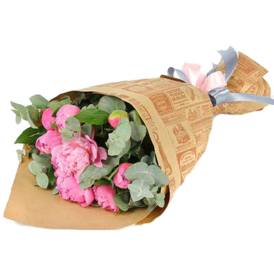Bouquet of peonies  ― Floristik.ua — Shop online flower delivery all over Ukraine and the world