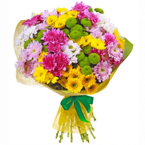 Chrysanthemum Bouquet. Buy Chrysanthemum Bouquet in the online store Floristik
