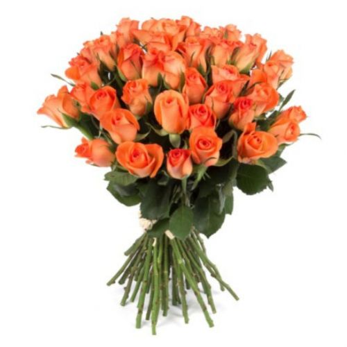 Bouquet of orange roses ― Floristik — Shop online flower delivery all over Ukraine.