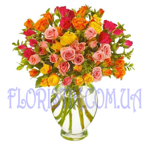 Bouquet Bright accent ― Floristik — Shop online flower delivery all over Ukraine.