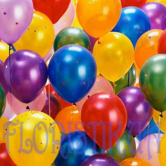 Helium balloons piece ― Floristik.ua — Shop online flower delivery all over Ukraine and the world