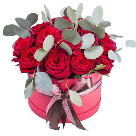 Box Nancy ― Floristik — Shop online flower delivery all over Ukraine.
