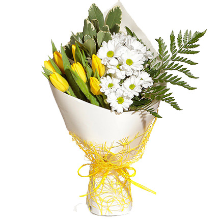 Bouquet of sun flowers ― Floristik — flower delivery all over Ukraine