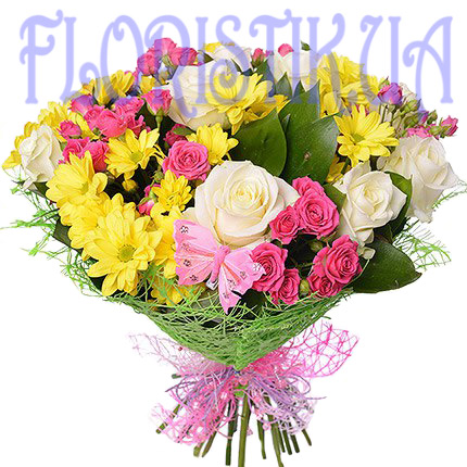 Bouquet Wonders ― Floristik — Shop online flower delivery all over Ukraine.